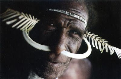 INDONESIA (New Guinea) - Dani Tribe in Baliem Valley (1)