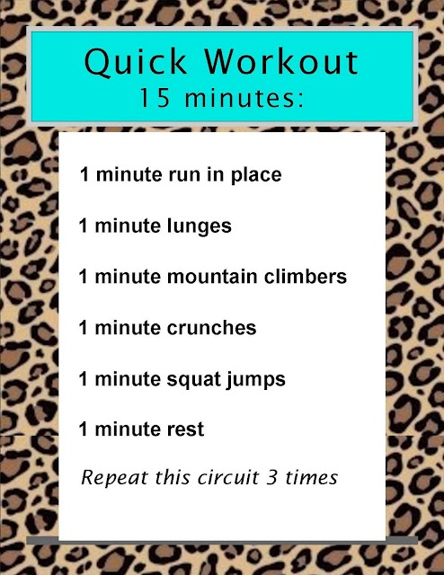 Quick Workout, SO EASY!!!!!!!!!!! Must do this!!!