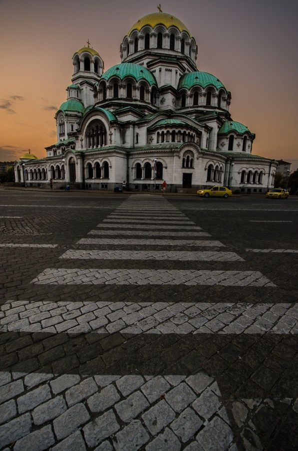 Alexander Nevsky Cathedral, Sofia, Bulgaria.. #travel #europe #richardjames