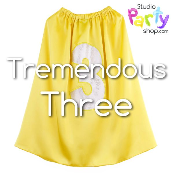 Are you a TREMENDOUS THREE?