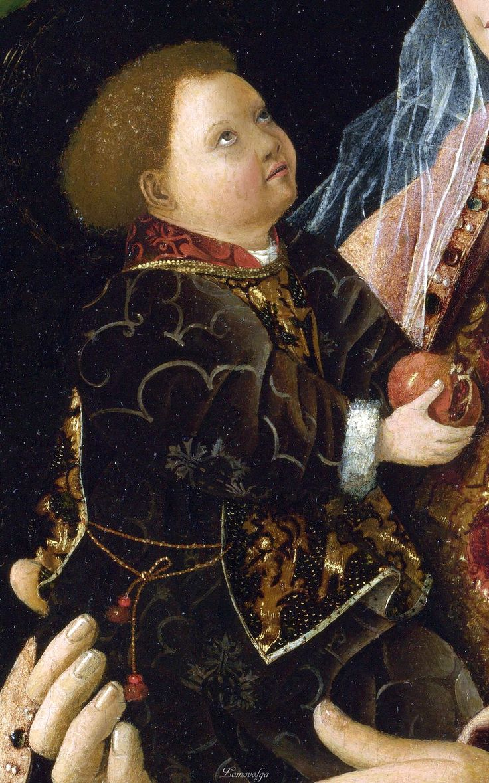 Antonello da Messina – Madonna Salting detail