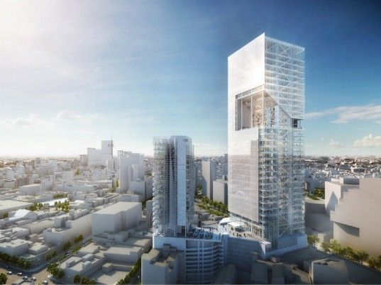 Richard Meier's Reforma Towers Celebrate Natural Light in Mexico City | Inhabitat - Sustainable Design Innovation, Eco Architecture, Green B...