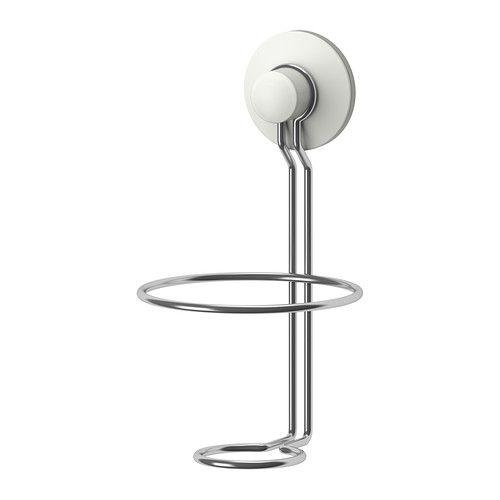 IMMELN Support distributeur de savon IKEA Doté de ventouses qui adhèrent à toute surface lisse.