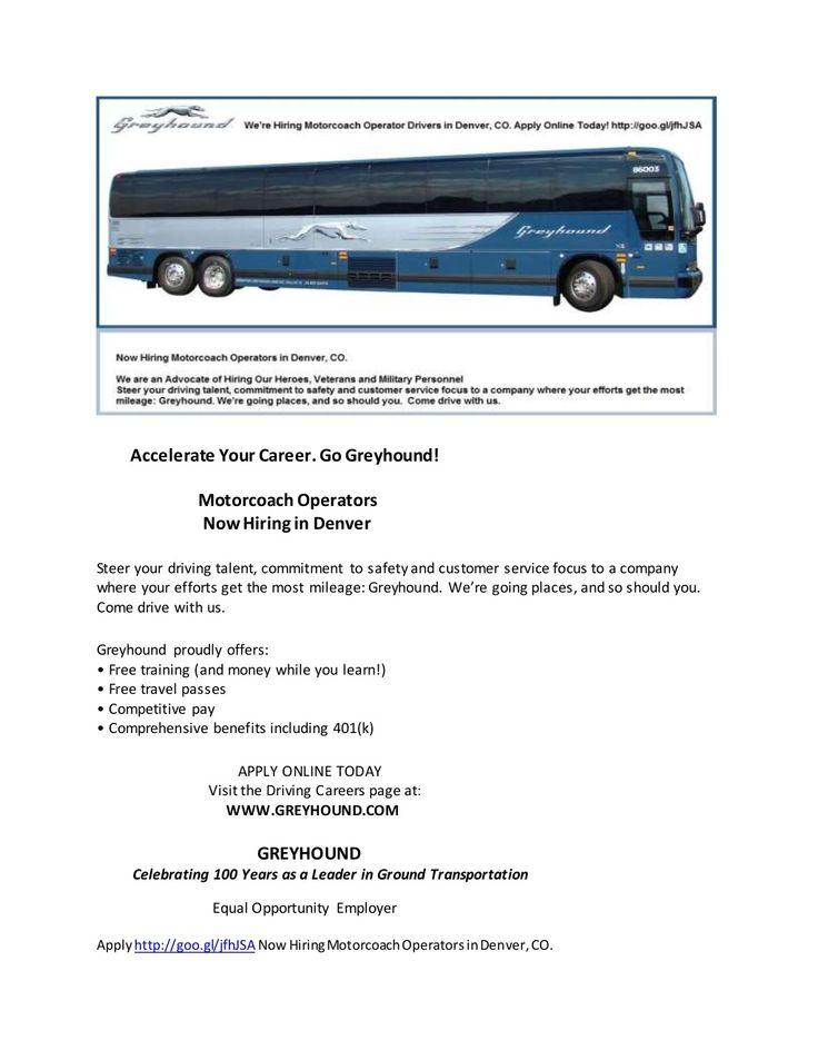 Apply Http Goo Gl Jfhjsa Now Hiring Motorcoach Operators