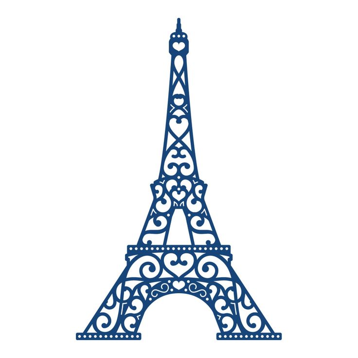 Tattered Lace - Dies - Eiffel Tower