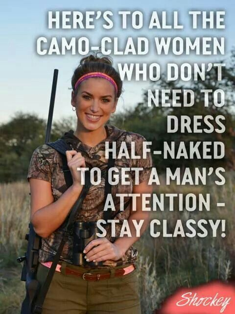 Camo-Clad Women! #camo #countrywomen #country