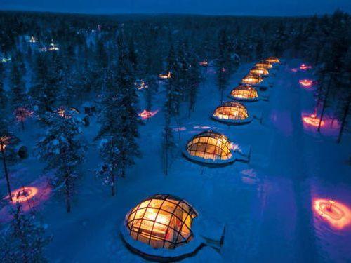フィンランド:カクシラウッタネンホテル / Finland: Hotel Kakslauttanen