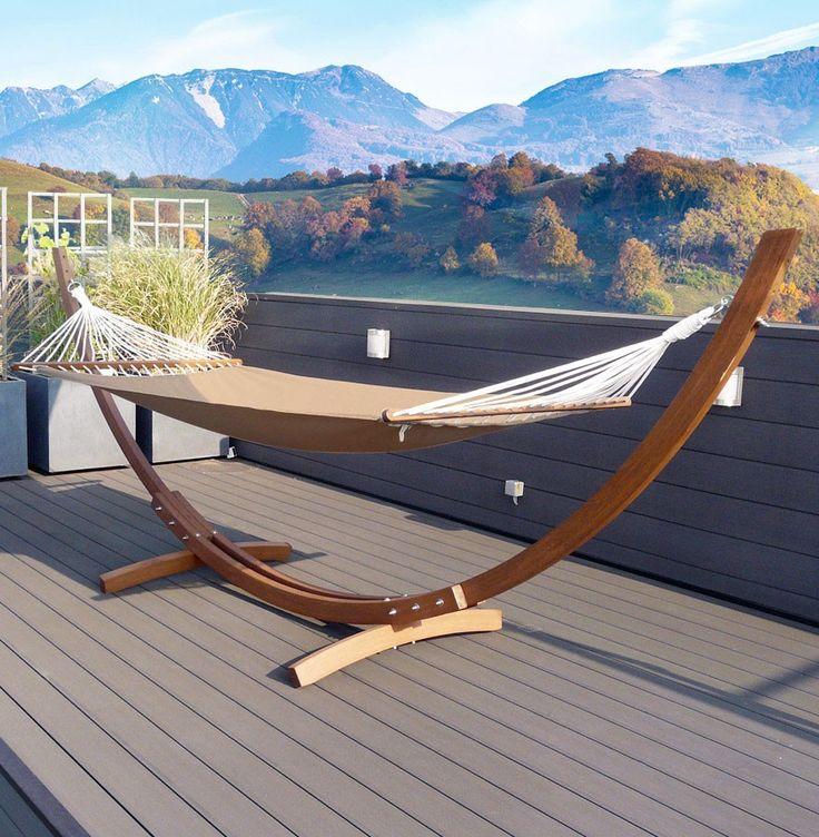 1000 id es sur le th me hamac de jardin sur pinterest. Black Bedroom Furniture Sets. Home Design Ideas