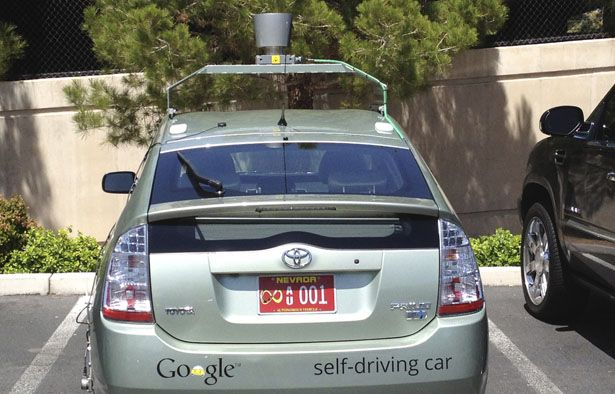 Google's Self-Driving Cars: 300,000 Miles Logged, Not a Single Accident Under Computer Control