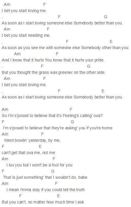 I Bet You Know What I Mean Lyrics - image 9