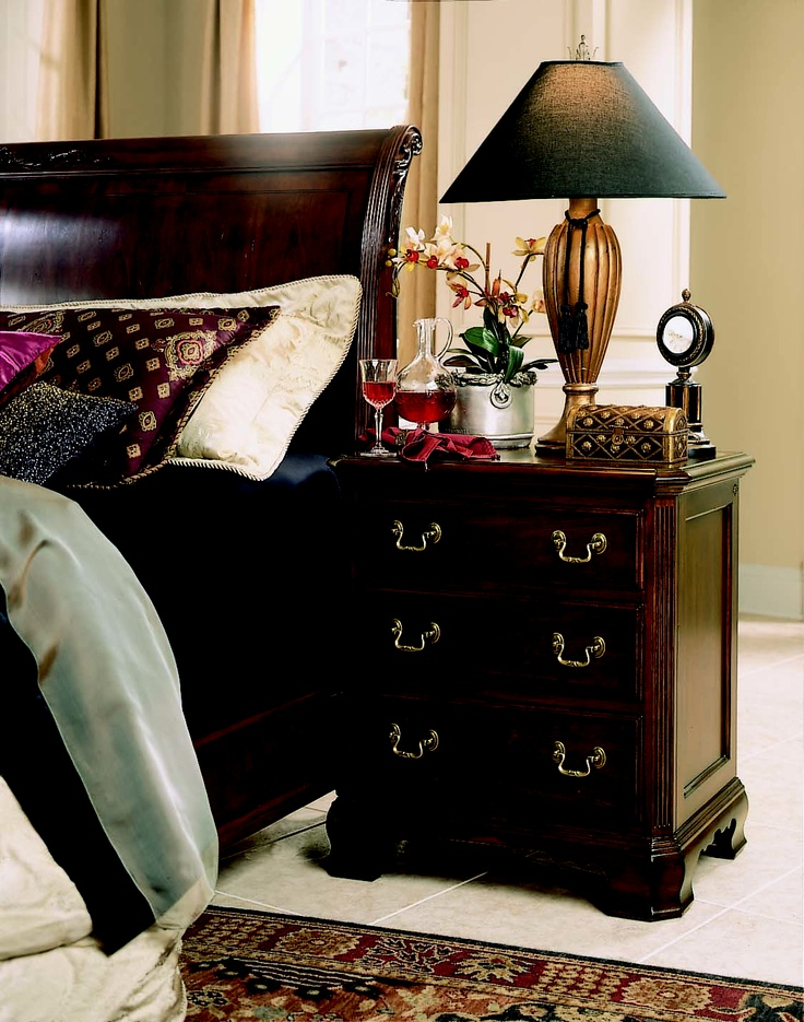 Beautiful Cherry Grove Collection 45th   SIDE TABLE #AmericanDrew #furniture  #bedroomsuite #bedroom #