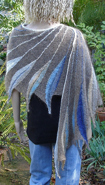 Dreambird Knitting Pattern : 68 best knit dreambird shawl images on Pinterest