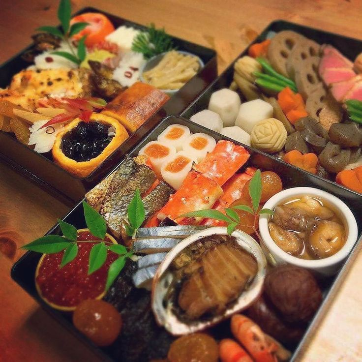 Osechi ryori is specially prepared New Year's food. Link to get limited Osechi