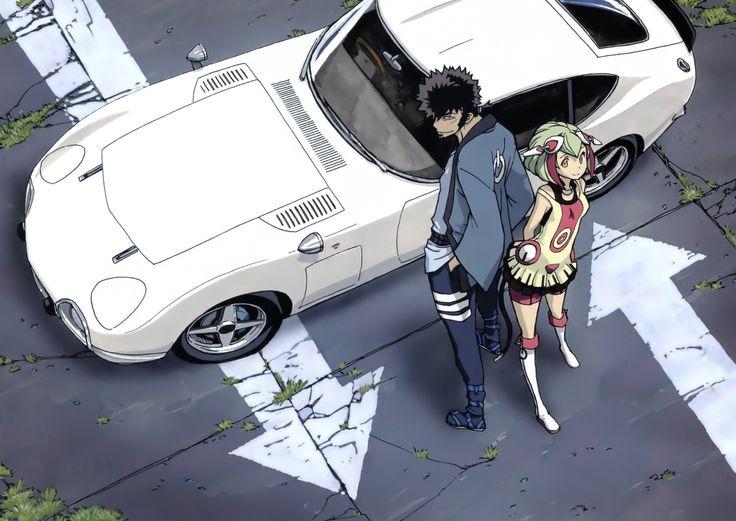 Dimension W   Kyouma Mabuchi & Mira Yurizaki   Anime   Sailormeowmeow