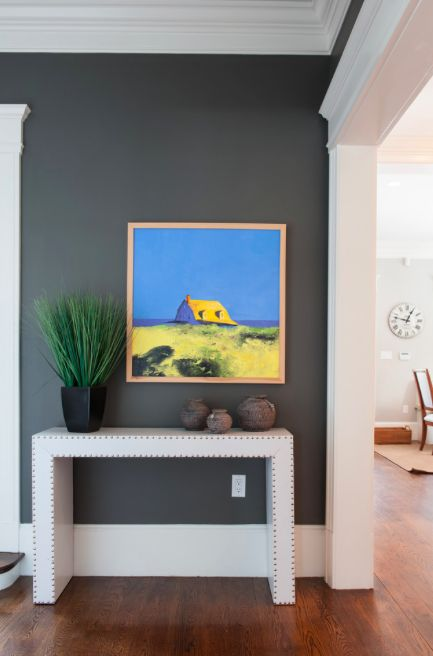 COLOR SPOTLIGHT – Benjamin Moore Kendall Charcoal HC-166 | ROWE SPURLING PAINT COMPANY