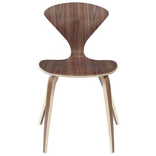 Norman Dining Chair in Dark Walnut