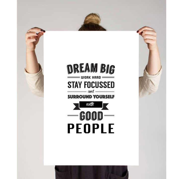 "Motivational print,""Dream Big, Work Hard, Stay Focussed"", Inspirational Poster, Typography Poster, Digital Print, Printable Poster by TheDesignHouzz on Etsy"
