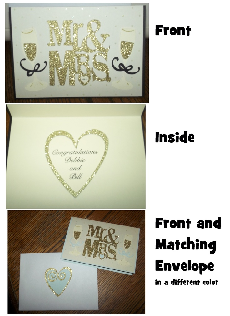 Wedding Gift Ideas Using Cricut : ... Wedding gifts on Pinterest Wedding, Wedding wishes and Wedding cards