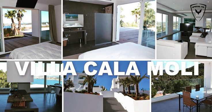 Who is dreaming of a fabulous vacation in a luxury house like the VILLA CALA MOLI?  The VILLA CALA MOLI with panoramic view on the sea is located near by Cala Moli, Cala Vadella y Cala Tarida. This house can be rented with her twin house, La Vila En Lience, for a total of 8 bedrooms, 8 bathrooms and a capacity for 16 persons.  Price per week from 5.950 €. You want to book or need more information? Don't hesitate to contact us www.special-vip.com/1/contact/  #ibiza #vacation #holidays…