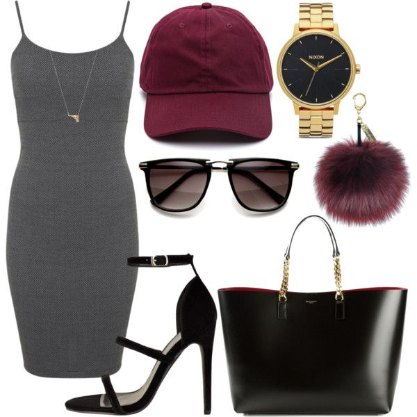 Untitled #1076 by kgoldchains on Polyvore featuring Miss Selfridge, Yves Saint Laurent, Nixon and Joolz by Martha Calvo