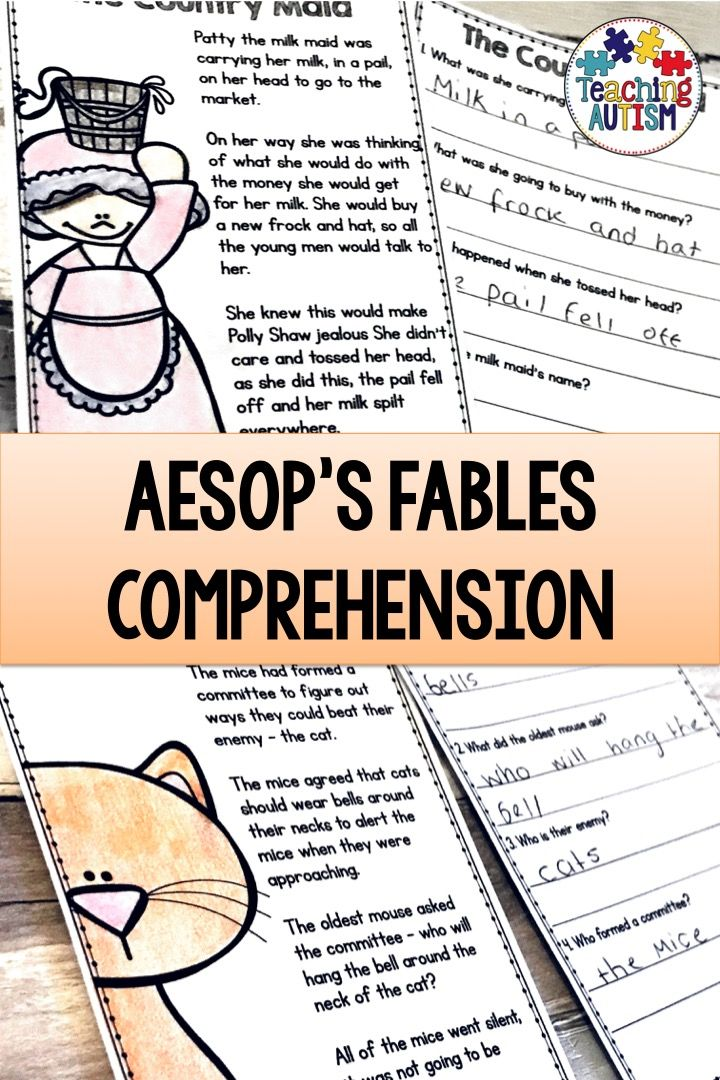picture about Printable Fables known as Aesops Fables Studying Being familiar with Web pages and Queries