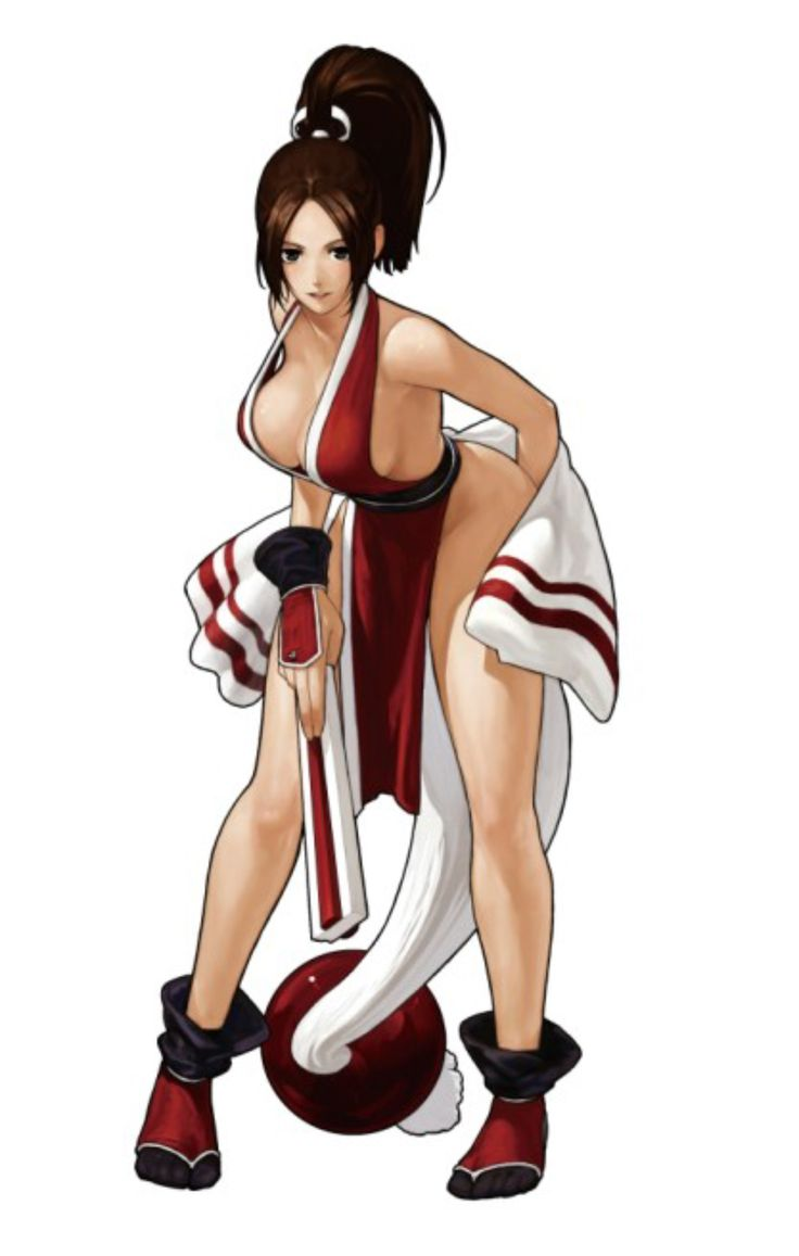 king-of-fighters-xiii-mai-shiranui-character-artwork.jpg (2000×3146)