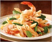 Dreamfields Pasta - Penne Primavera with Shrimp