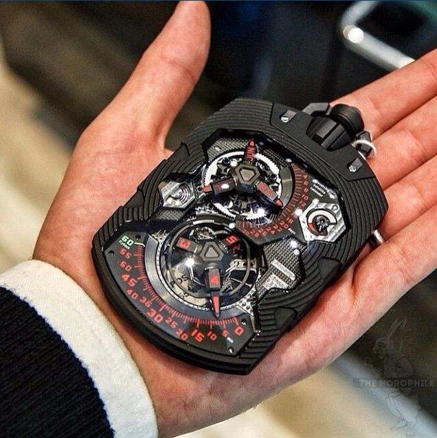 1001 piece unique for Marcus, URWERK by The Horophile