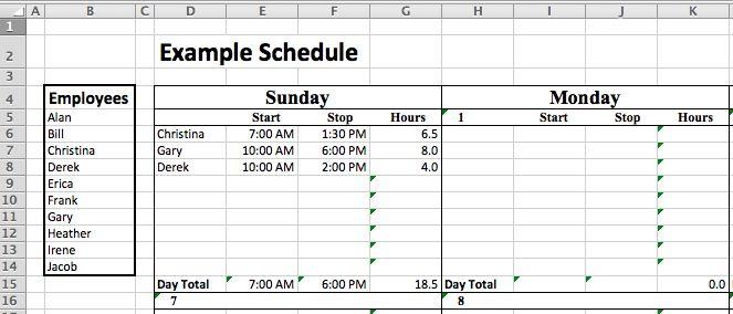staffing schedule template free ebook download or. Black Bedroom Furniture Sets. Home Design Ideas