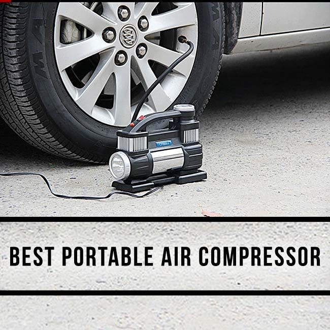Here is the top ten portable air compressor for car and bike tires, sports ball and much more.