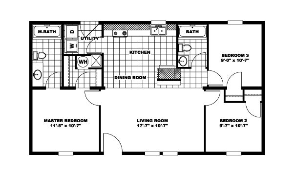 3br 2 bath 24x40 home perfect for arch cabin a girl can dream pinterest cabin and bath - Cabin Floor Plans