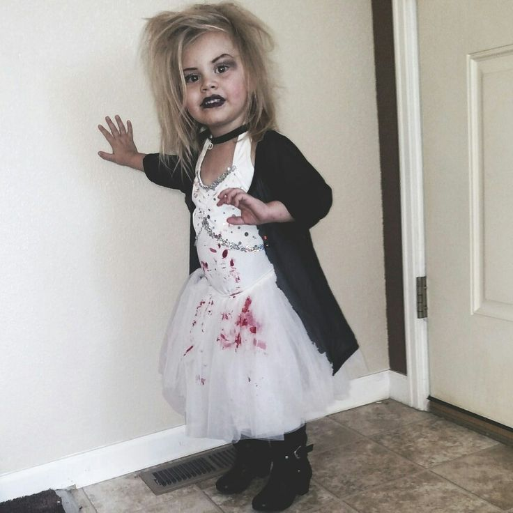 Bride of chucky halloween costume for toddlers