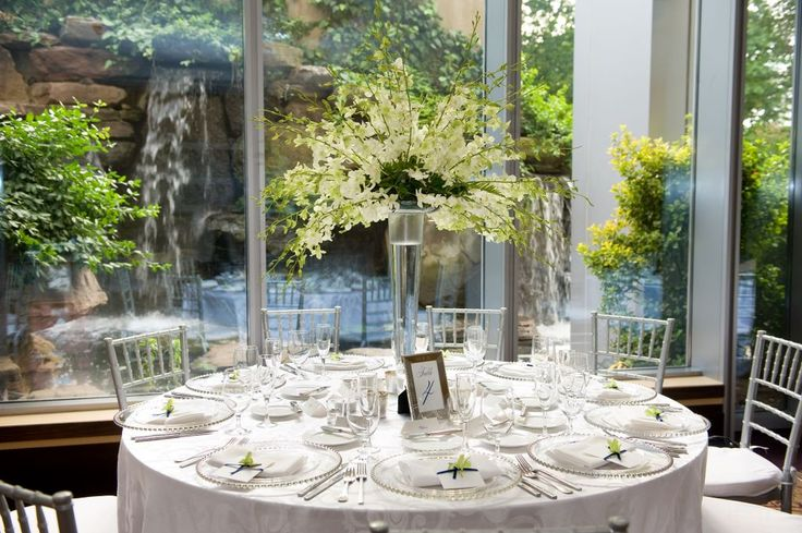 Wedding Reception In The Waterfall Room At 2941 Restaurant See More Pics 2941 Special Events