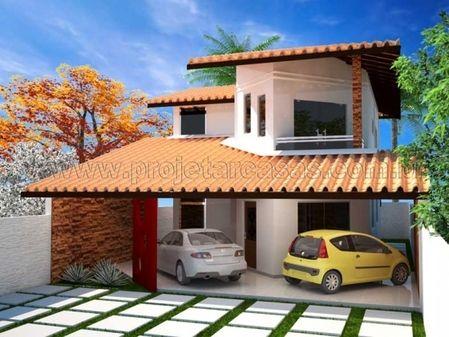 Projetar Casas Projeto De Sobrado Com 2 Quartos E 1