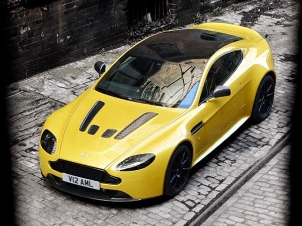 Aston Martin V12 Vantage S, confirmed as the brand's fastest car, costs $185,000