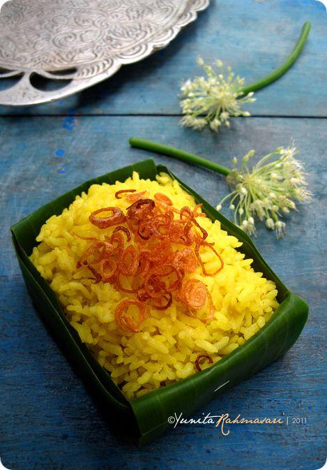 Nasi Kuning..indonesian yellow rice