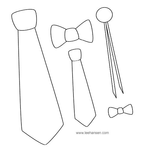 tie pattern printable | Teddy Heart Coloring Page for Dad, Grandpa, Step-Dad, Uncle!