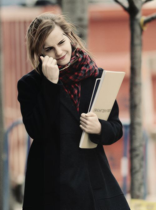 Emma Watson out in New York City; January 20, 2014