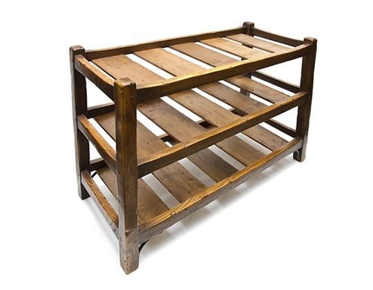 Shoe rack or small shelf
