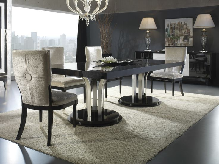 Top 25 ideas about modern classic on pinterest modern for Contemporary dining table decor