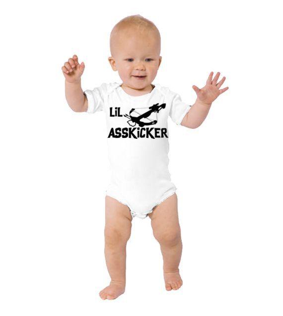 Lil Asskicker (The Walking Dead) One Piece Bodysuit/Creeper or T-Shirt on Etsy, $20.00