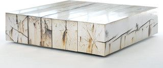 Metallic Silver And Rustic Wood Are A Perfect Fuse Of Natural And Artificial Depending On The