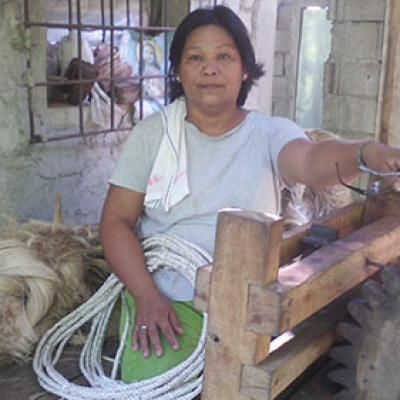 Quest Coffee Roasters supports Salvenia from Philippines through Kiva.