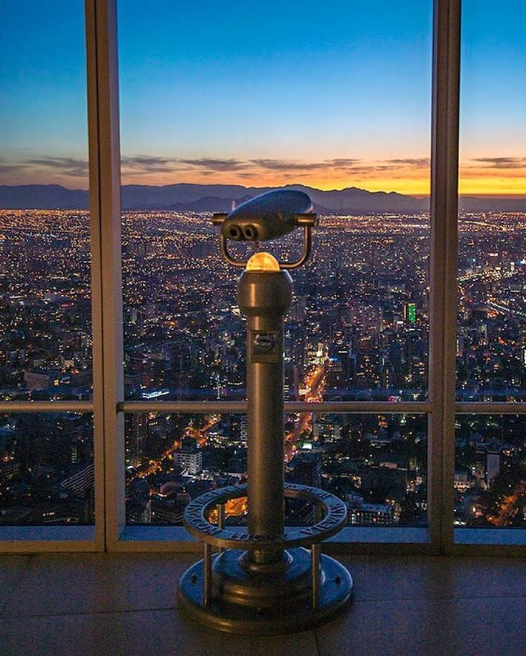 """Best View in Santiago  Location: Sky Costanera - Santiago, Chile. Photo Credit: @danielgois"""
