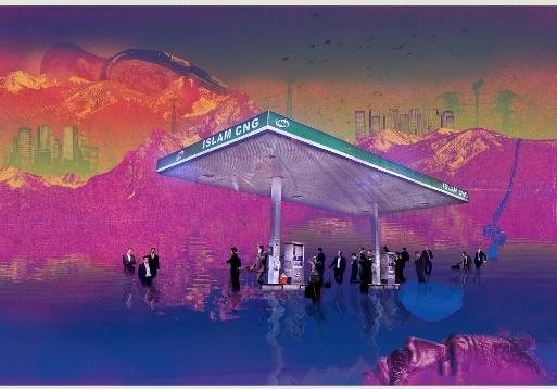 Grey Noise by Lahore-based digital artist Mehreen Murtaza. (http://www.mehreenmurtaza.com/)