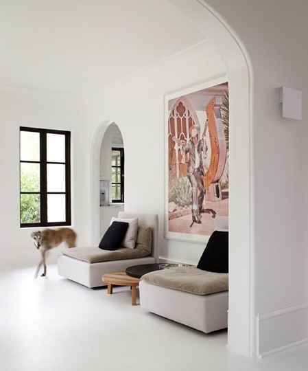 Modern meet historic done right! Good house bones go with all all styles. Also baseboard envy to the max.