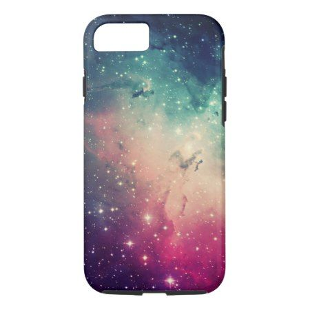 Beautiful Cool Colorful Hipster Nebula Stars Photo iPhone 7 Case - click/tap to personalize and buy