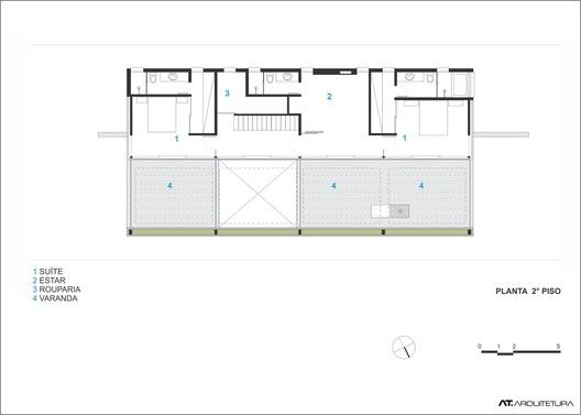 Terraville House,Plan 01