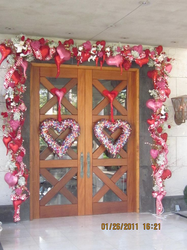 Front Door Valentines Decor Pinterest Front Doors