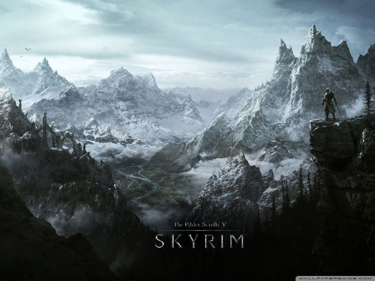 The Elder Scrolls V: Skyrim (Video Game) HD desktop wallpaper